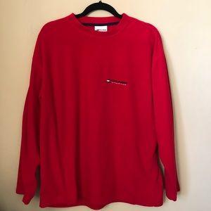 Tommy Hilfiger Vintage Red Fleece Sweatshirt